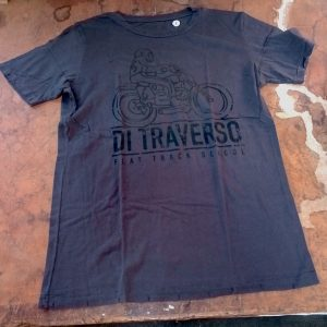 Di Traverso T-shirt Destroyed Black