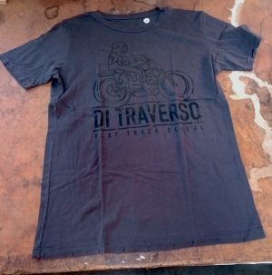 Di Traverso T-shirt Destroyed Black